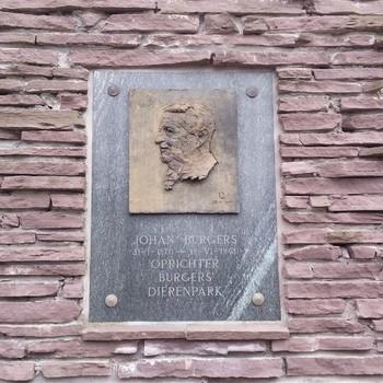 Plaquette Johan Burgers
