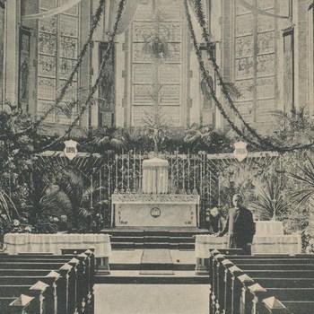 Ansichtkaart St. Martinuskerk te Oud-Zevenaar