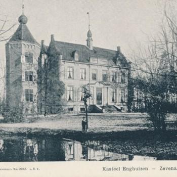 Ansichtkaart Huis Enghuizen te Zevenaar