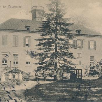 Ansichtkaart huis Sevenaer te Zevenaar