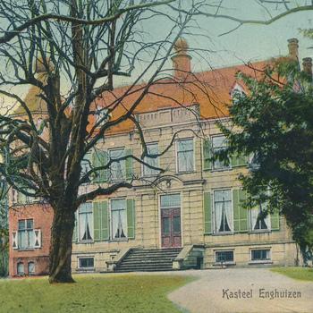 Ansichtkaart huize Enghuizen te Zevenaar