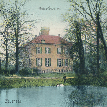 Ansichtkaart huize Sevenaer te Zevenaar