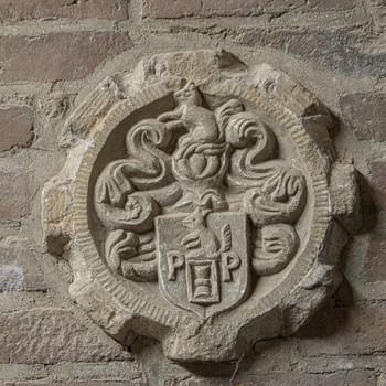 Sluitsteen voor Paul Pelen, 1650, Stichting Eusebius Arnhem