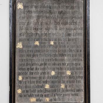 Gildebord Kramersgilde, 1653, Stichting Eusebius Arnhem