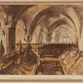De Liberie (Kerkelijke boekerij) in de St. Walburgskerk te Zutphen