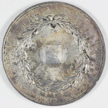 Zilveren penning tweede eeuwfeest universiteit Utrecht 1836