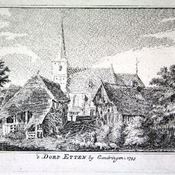 't Dorp Etten by Gendringen. 1743