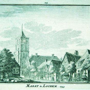 Markt te Lochem. 1743