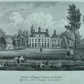 Chateau d 'Ulenpas, Province de Gueldre