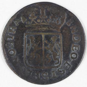 Duit 1790 VOC  Gelderland