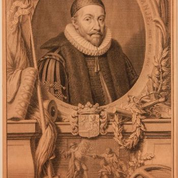Randschrift: WILLEM de I PRINS VAN ORANJE [1533-1584], enz. enz. enz.