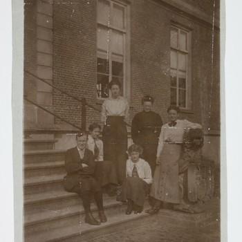 Familie Westerholt voor Huis Hackfort