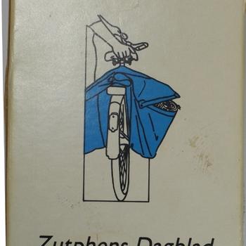 Kaart en Kwartetspel gemeente Zutphen