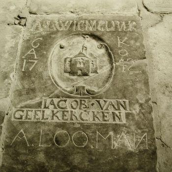 Grafsteen Jacob van Geelkercken