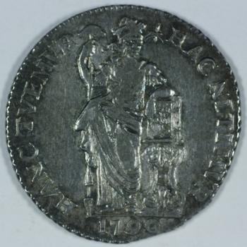 gulden 1790 VOC,  Gelderland.