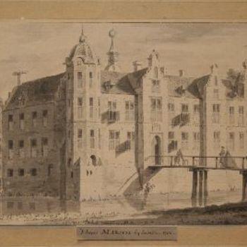 't huis Marsch . bij Zutvin 1730.