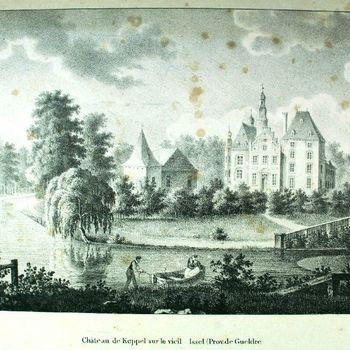 Château de Keppel sur le vieil Issel (Prov. de Gueldre)