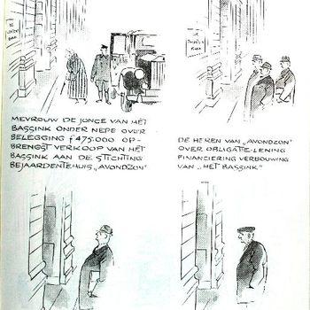 boekillustratie gemaakt door Jo Spier ca. 1961