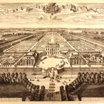 Vue et perspective de Voorst appartement au Comte d'Albemarle