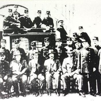 Postkoets met personeel
