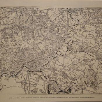 Kaart van een deel van Gelderland