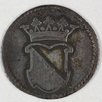 Halve duit VOC 1763, UTRECHT