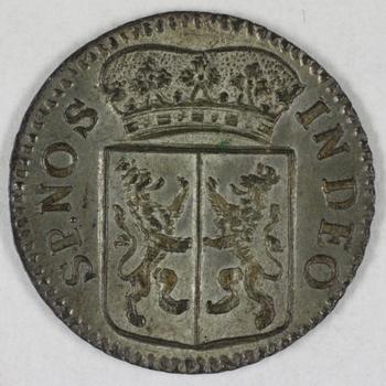duit VOC 1756  Gelderland