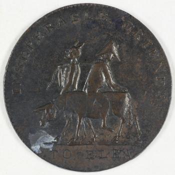 Spotpenning Napoleon 1814