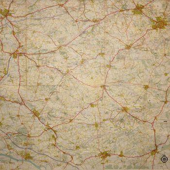 Toeristenkaart Gelderse Achterhoek