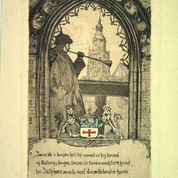 Het ambt van torenwachter op de St. Walburgskerk te Zutphen [werd in 1919] afgeschaft