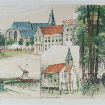 Markt te Aalten, Bij  Aalten, Kerk te Bredevoort, Montferland