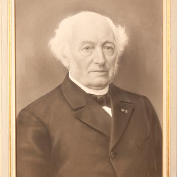 Dhr. H.A.D. Coenen (1818-1907),  Burgemeester van Zutphen (1865-1894)