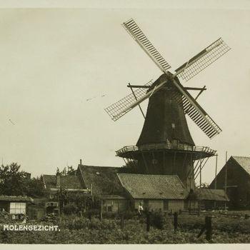Gezicht op de molen van Warnsveld