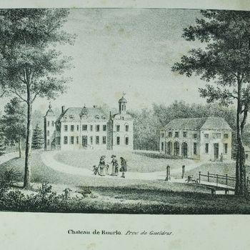 Chateau de Ruurlo. Prov. de Gueldres.