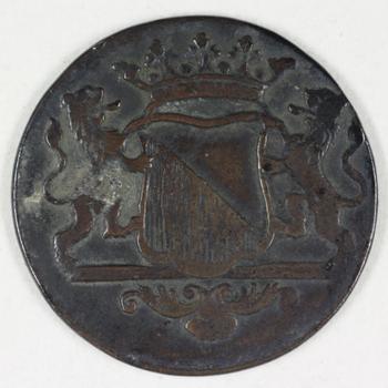 Duit VOC 1790, Utrecht