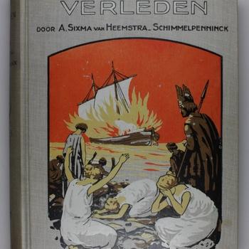 Uit het grijs verleden : door A. Sixma van  Heemstra-Schimmelpenninck ; met platen van J.G. Kesler