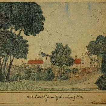 't Oude Casteel Enghuizen bij Hummelo, opzij Aº 1663