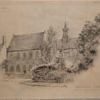 Broederenkerk:- Refectorium,  Nu Stedelijk Museum. Zutphen