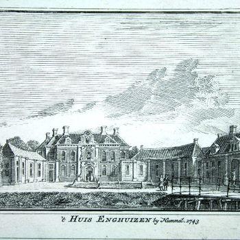 't Huis Enghuizen by Hummel. 1743