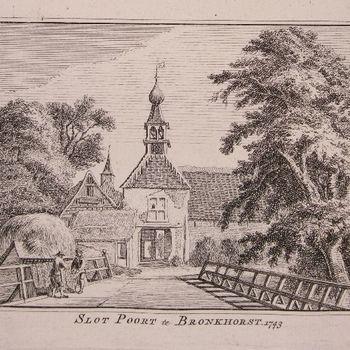 Slot Poort te Bronkhorst 1743