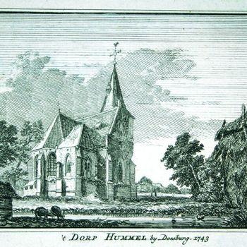 't Dorp Hummelo bij Doesburg. 1743