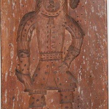 Speculaasplank van hout