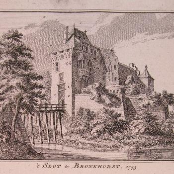 't Slot te Bronkhorst 1743