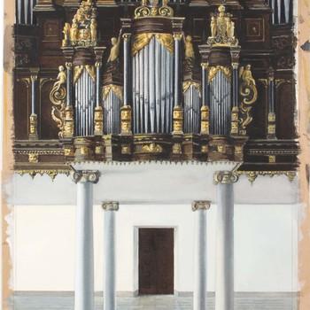 Het Baeder-orgel in de Sint Walburgiskerk te Zutphen
