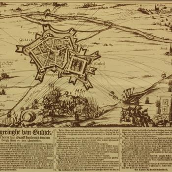 Belegeringhe van Gulijck