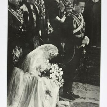 De inzegening van het Huwelijk van Prinses Juliana en Prins Bernhard (1937)
