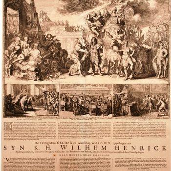 Het Hertoghdom GELDER en Graefschap ZUTPHEN, opgedragen aen SYN K.H. WILHEM HENRICK [...]