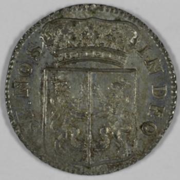 duit 1757 VOC, Gelderland.