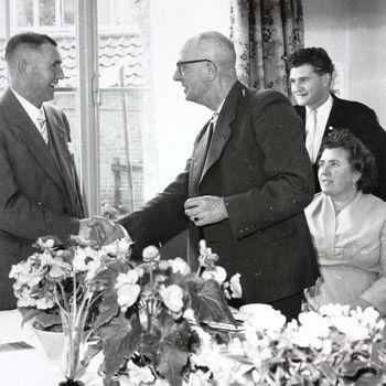40-jarig Jubileum PTT, G.H. Lindeboom