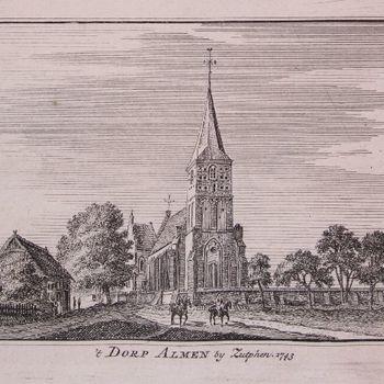 't Dorp Almen by Zutphen 1743